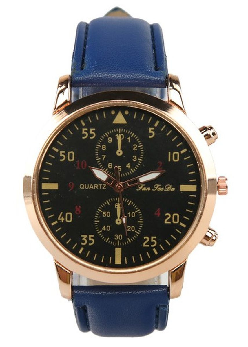 Biru Dongker color Jam Analog . Faah Teekay Cassanova Watches -