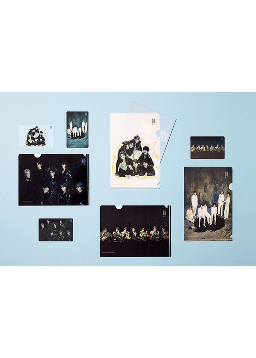 Multi color Dekorasi . BTS Jigsaw Puzzle 4 Type Set -