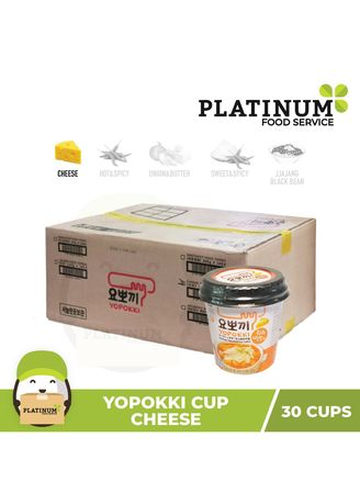 No Color color Snacks . Yopokki Cheese Cup 120g x 30 -