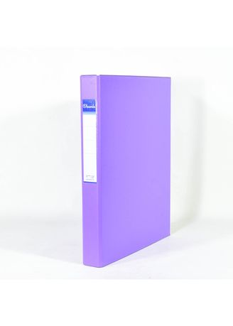 No Color color Binders & Binder Accessories . Bambi Ring Binder 2 Ring FC 2020 - 90 Fluoro purple -