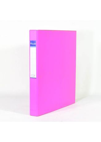 No Color color Binders & Binder Accessories . Bambi Ring Binder 2 Ring FC 2020 - 91 Fluoro Pink -