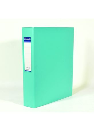 No Color color Binders & Binder Accessories . Bambi Ring Binder 2 Ring FC 2023 - 19 Pastel Green -