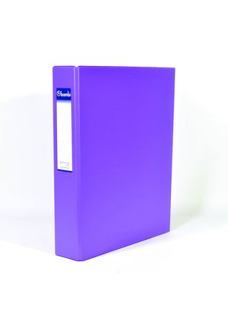 No Color color Binders & Binder Accessories . Bambi Ring Binder 2 Ring FC 2023 - 90 Fluoro Purple -