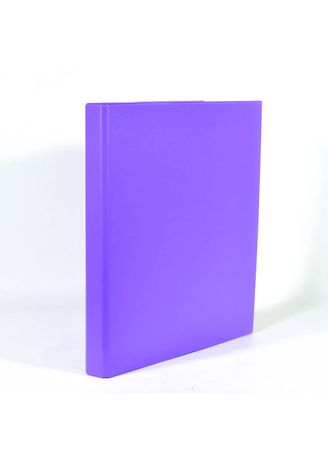 No Color color Binders & Binder Accessories . Bambi Ring Binder 2 Ring A4 2126 - 90 Fluoro Purple -
