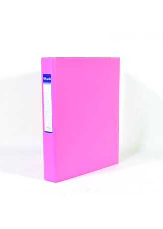 No Color color Binders & Binder Accessories . Bambi Ring Binder 3 Ring A4 2131 - 91 Fluoro Pink -