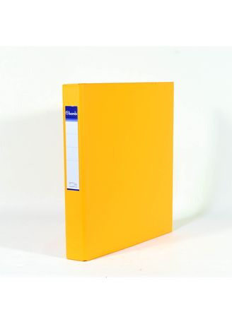 No Color color Binders & Binder Accessories . Bambi Ring Binder 3 Ring A4 2131 - 92 Fluoro Orange -