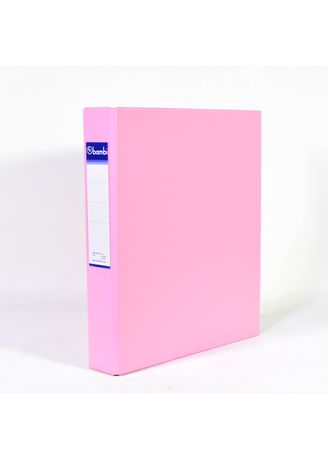 No Color color Binders & Binder Accessories . Bambi Ring Binder 3 Ring A4 2132 - 21 Pastel Pink -