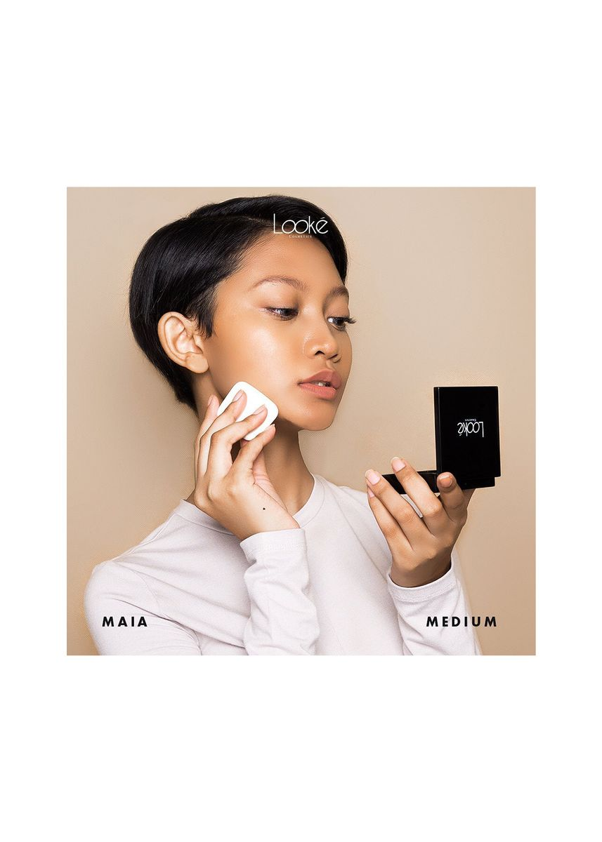 Multi color Wajah . LOOKE Holy Perfecting Pressed Powder Maia by Looké Cosmetics -