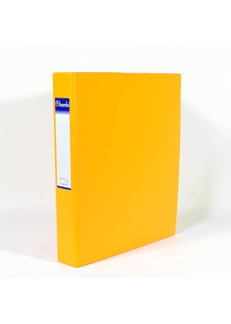 No Color color Binders & Binder Accessories . Bambi Ring Binder 3 Ring A4 2132 - 92 Fluoro Orange -