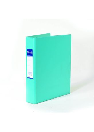 No Color color Binders & Binder Accessories . Bambi Ring Binder 3 Ring A5 2221 - 19 Pastel Green -