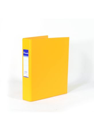 No Color color Binders & Binder Accessories . Bambi Ring Binder 3 Ring A5 2221 - 92 Fluoro Orange -