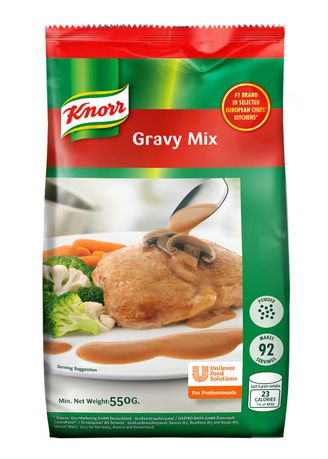 No Color color Other Sauces . Knorr Gravy Mix 550g -