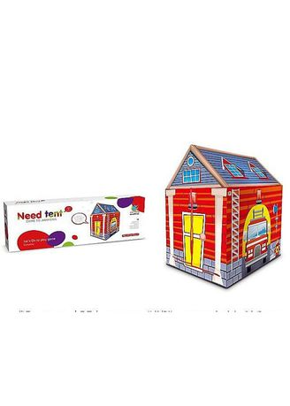 Red color Toys . Outdoor Playhouse Tent for Kids - Fire -