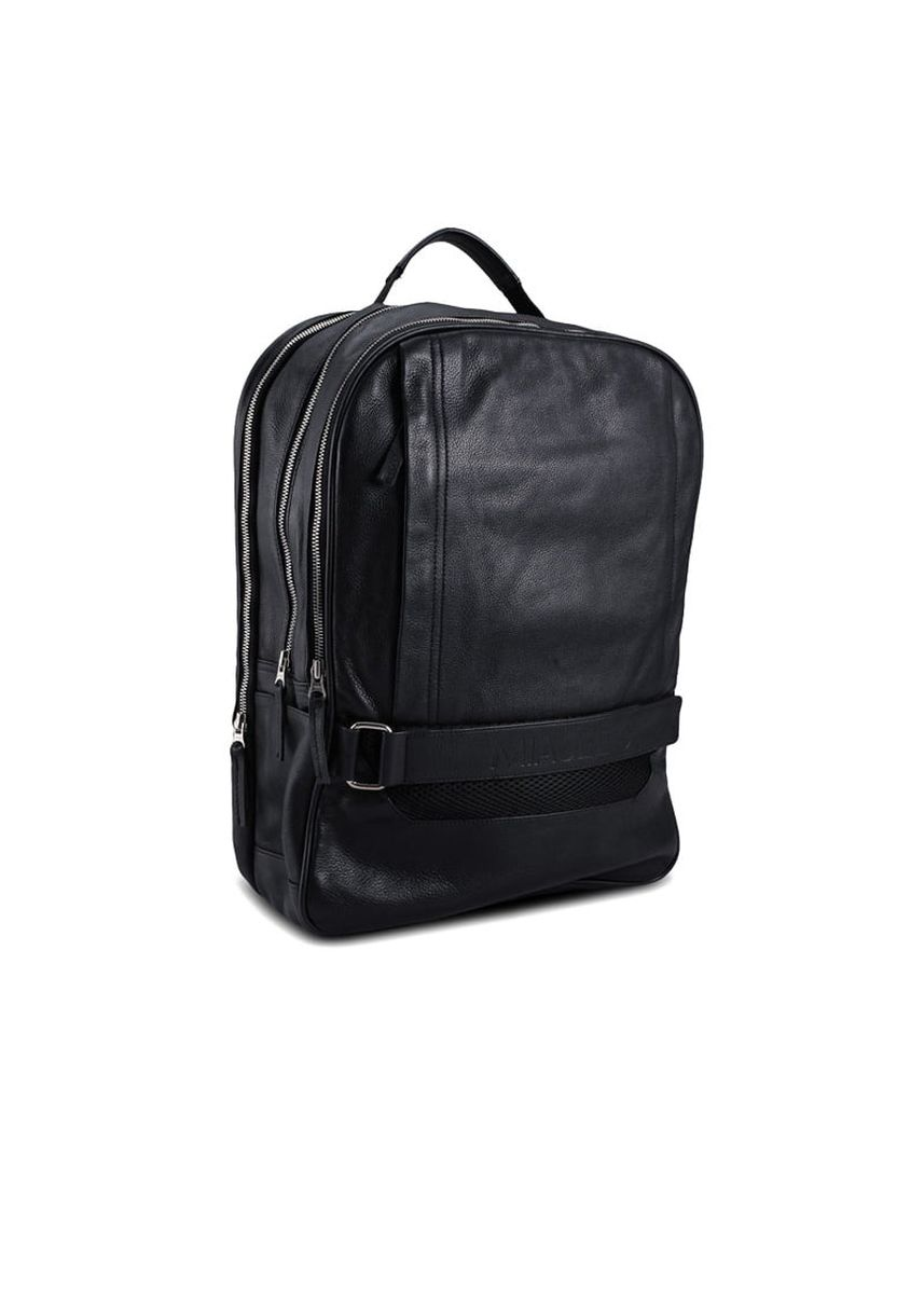 Black color Backpacks . Fesrestian Multipurpose Leather Backpack -