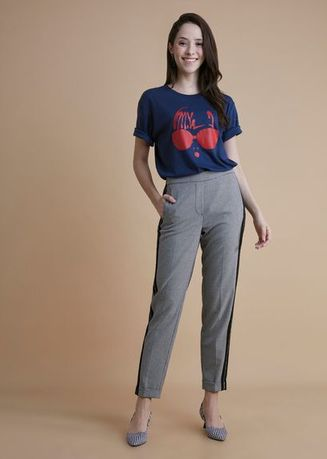 Navy color Tees & Shirts . Lowie Sleeve Tee M -