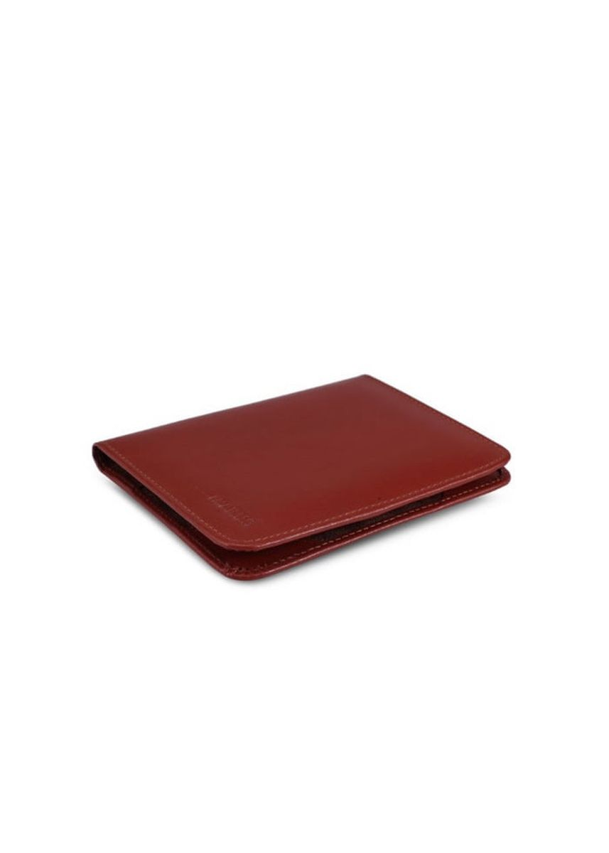 Red color Travel Accessories . Leather Passport Holder -
