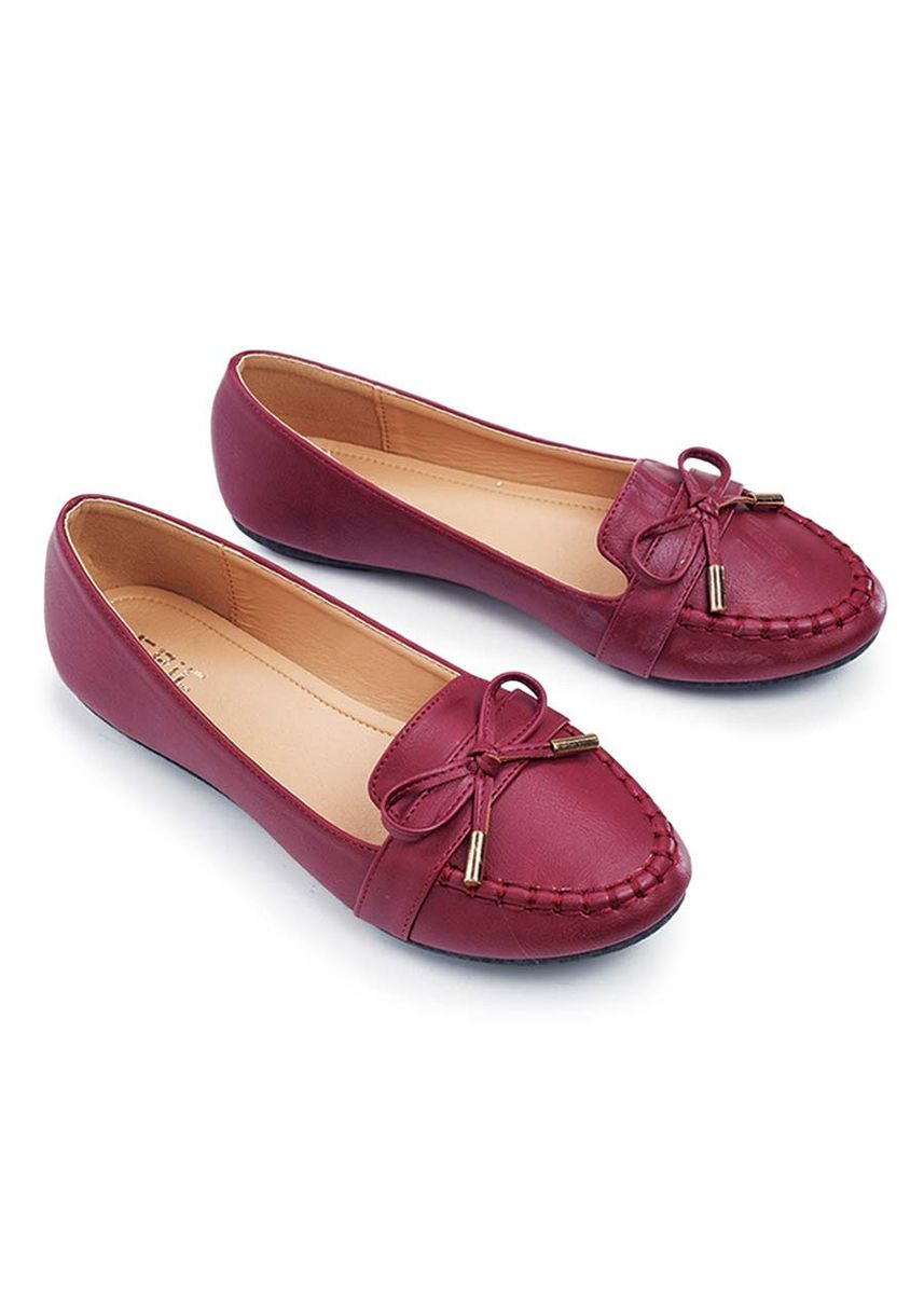 Maroon color Casual Shoes . Magdalene Women's Shoes -