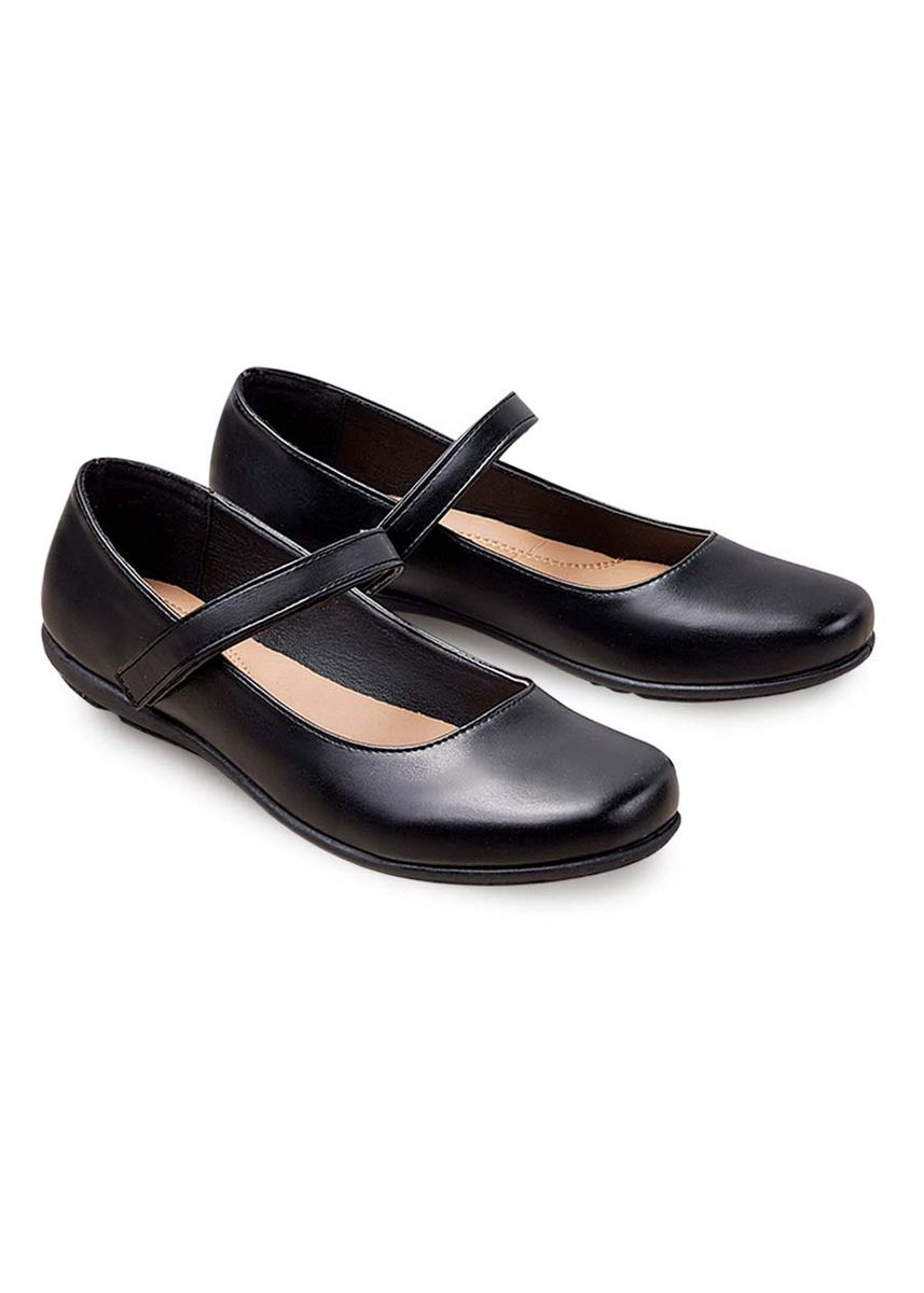 Black color Flats . May Women's Shoes -