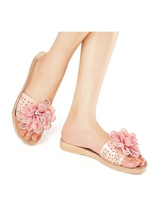 Pink color Sandals and Slippers . Meadow Women's Sandals -