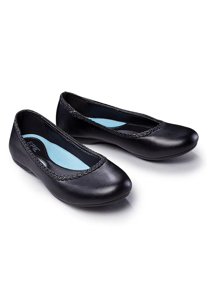 Black color Flats . Raylyn Women's Shoes -