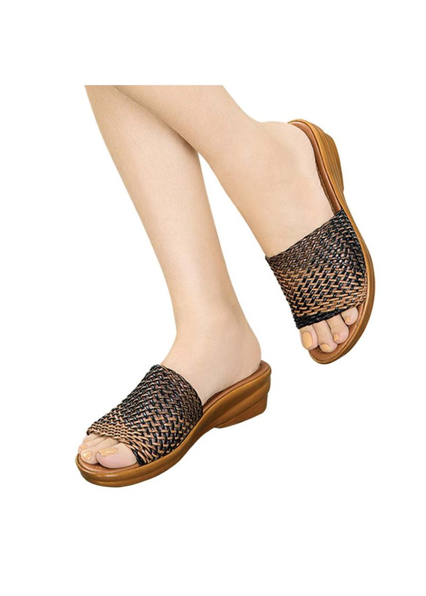 Brown color Sandals and Slippers . Saida Women's Sandals -
