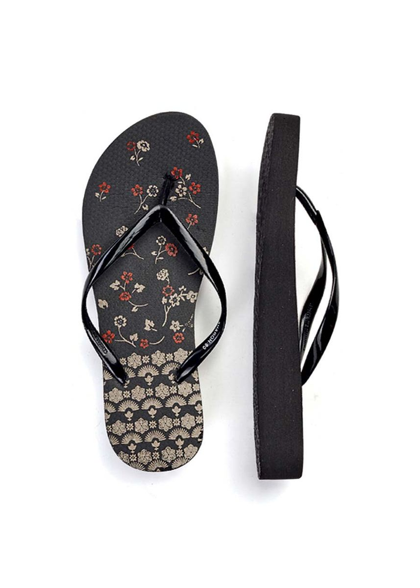 Black color Sandals and Slippers . Sharon Women's Slippers -