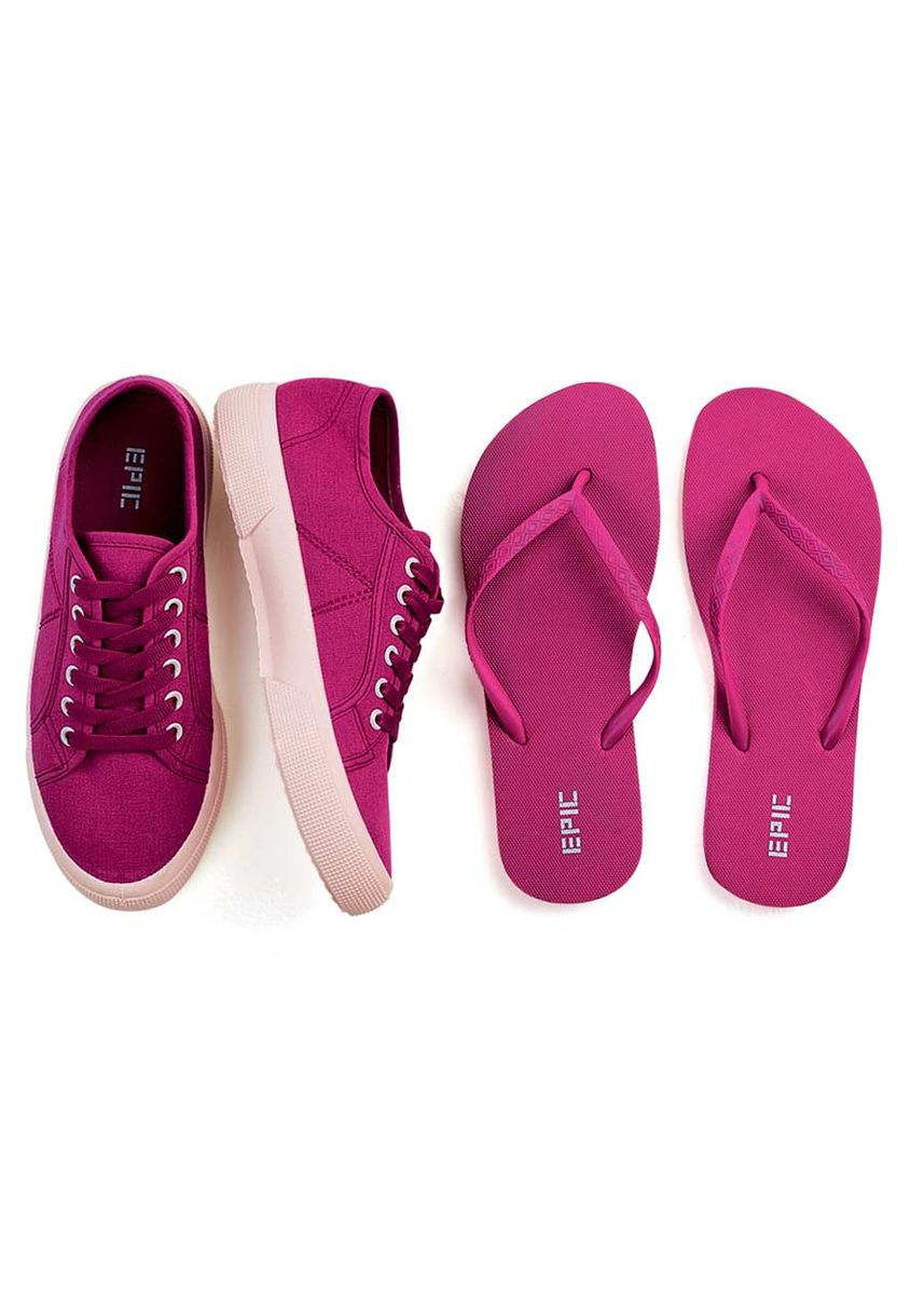 Maroon color Casual Shoes . Sherlove Women's Shoes + Slippers -