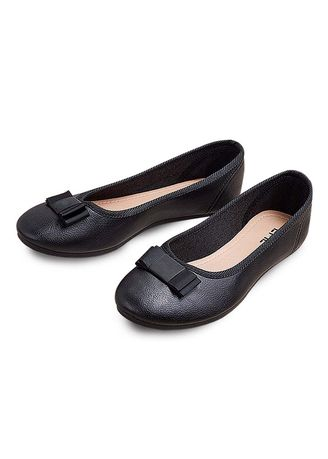 Black color Flats . Terilyn Women's Shoes -