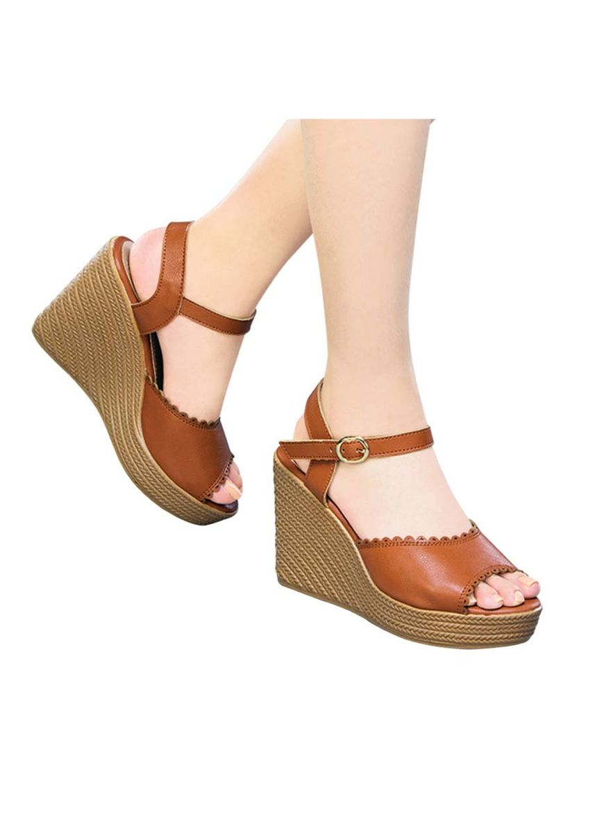 Tan color Sandals and Slippers . Valkyrie Women's Sandals -