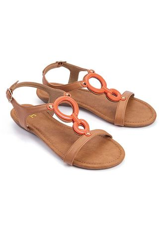 Tan color Sandals and Slippers . Midori Women's Sandals -
