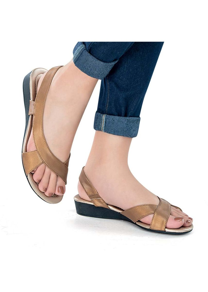Brown color Sandals and Slippers . Yuria Women's Sandals -