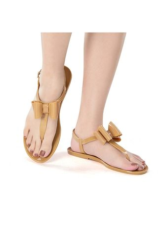Beige color Sandals and Slippers . Malibu Women's Sandals -