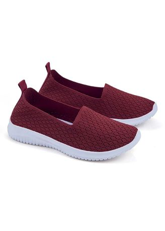 Maroon color Casual Shoes . Mio Women's Shoes -