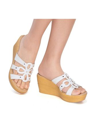 Beige color Sandals and Slippers . Tandy Women's Sandals -