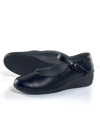 Black color Flats . Solimar Women's Shoes -