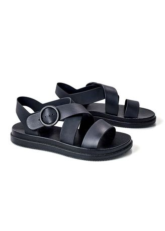 Black color Sandals and Slippers . Machiko Women's Sandals -