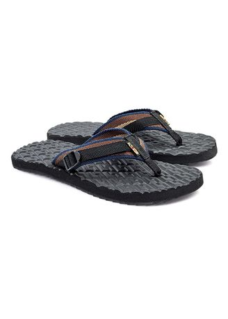 Blue color Sandals and Slippers . Brooklyn Men's Slippers -
