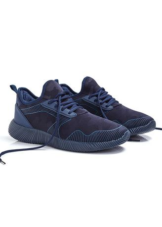 Navy color Casual Shoes . Olympus Men's Shoes -