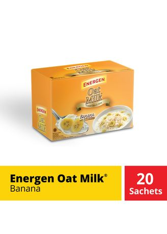 No Color color Other Grains . Energen Oatmilk Mix Banana Box 20 Sachet @24 Gr -