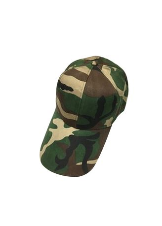Green color Hats and Caps . Unisex Adjustable Camouflage Baseball Cap Hat #6 -