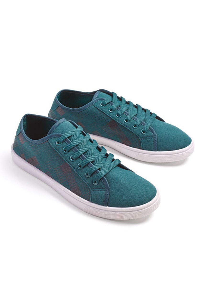 Green color Casual Shoes . Yoshiro Men's Shoes -