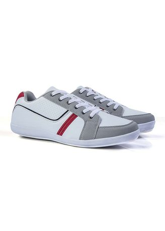 White color Casual Shoes . Sutton Men's Shoes -