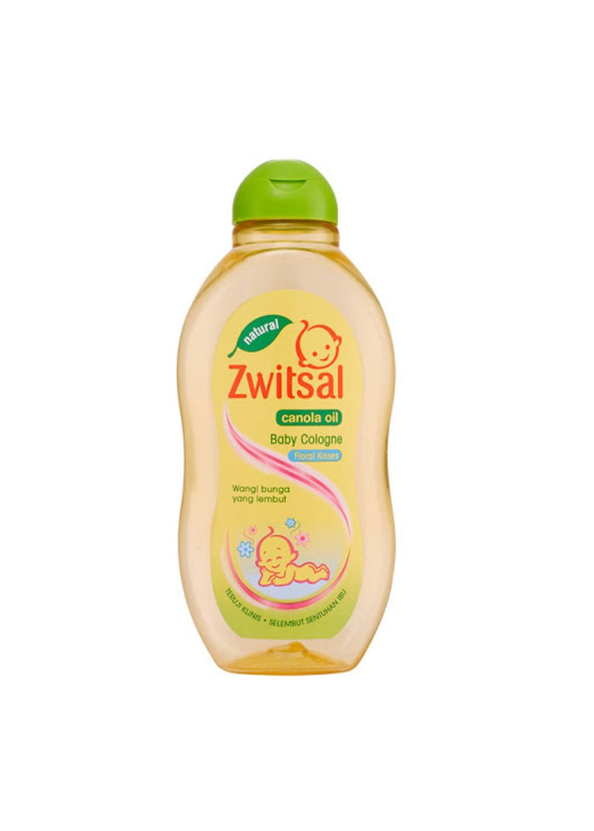 No Color color Body Cream & Oil . Zwitsal Baby Cologne Floral Kisses -