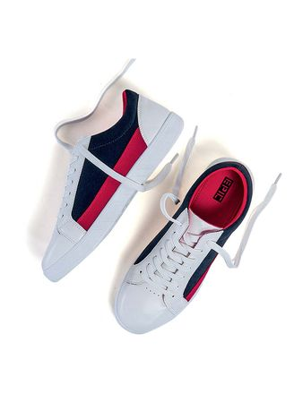 White color Casual Shoes . Octane Men's Shoes -