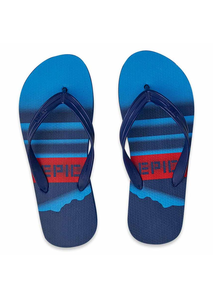 Navy color Sandals and Slippers . Stetson Men's Slippers -