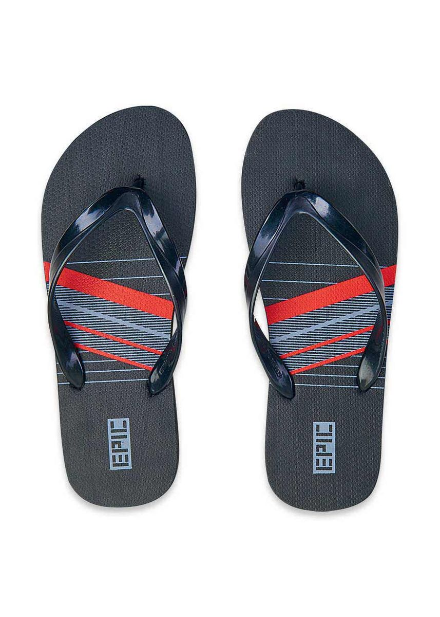 Black color Sandals and Slippers . Polaris Men's Slippers -