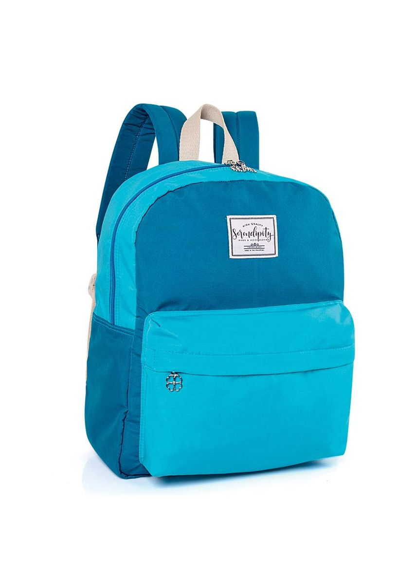 Cyan color Bags . Serendipity Yasharee Backpack -