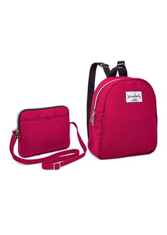 Maroon color Bags . Serendipity Misha  2-in-1 Bag -