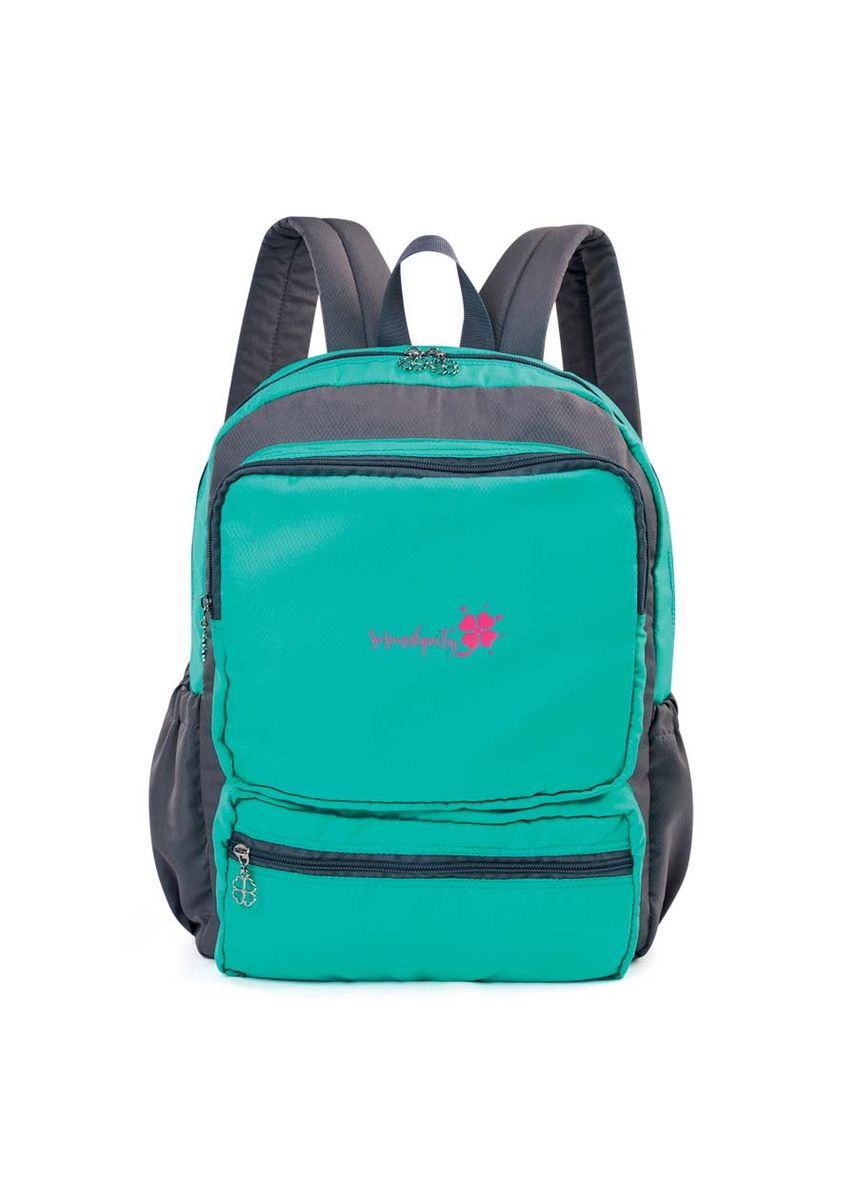 Green color Bags . Serendipity Matcha Backpack -
