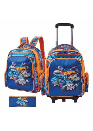 Multi color Bags . Hot Wheels Thaddeus Trolley Bag -
